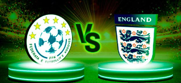 Kosovo - England Football Tip - Wazobet